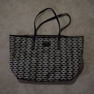 Kate Spade | Large Nylon Tote Vintage Monogram